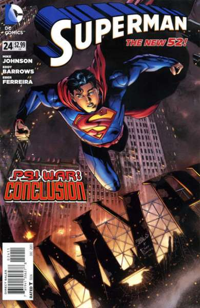 Superman #24 comic books - cover scans photos Superman #24 comic books - covers, picture gallery