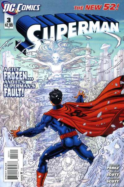 Superman #3 Comic Books - Covers, Scans, Photos  in Superman Comic Books - Covers, Scans, Gallery