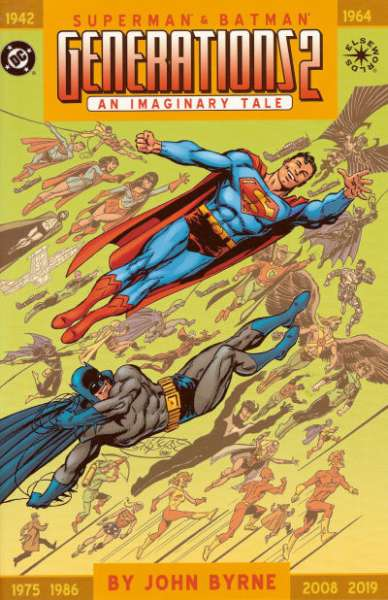 Superman & Batman: Generations II #1 comic books - cover scans photos Superman & Batman: Generations II #1 comic books - covers, picture gallery