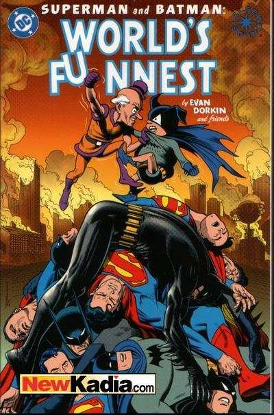 Superman & Batman: World's Funnest comic books