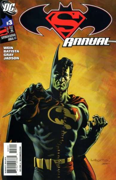 Superman/Batman #3 comic books for sale
