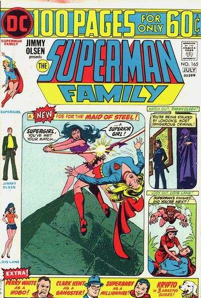 Superman Family #165 comic books - cover scans photos Superman Family #165 comic books - covers, picture gallery
