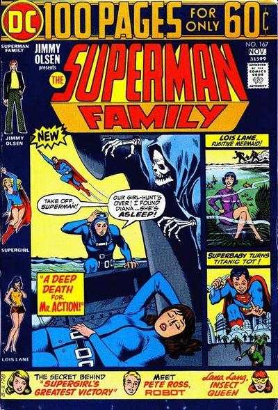 Superman Family #167 comic books - cover scans photos Superman Family #167 comic books - covers, picture gallery