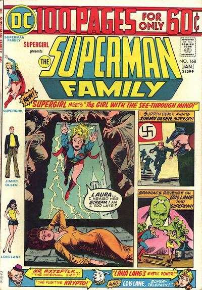 Superman Family #168 comic books - cover scans photos Superman Family #168 comic books - covers, picture gallery