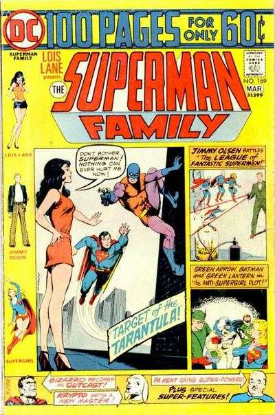 Superman Family #169 comic books - cover scans photos Superman Family #169 comic books - covers, picture gallery