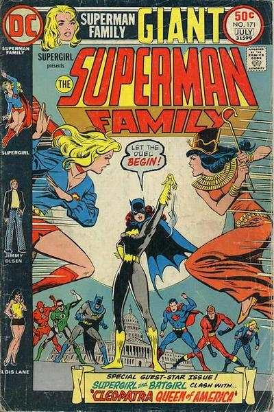 Superman Family #171 comic books - cover scans photos Superman Family #171 comic books - covers, picture gallery