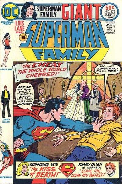 Superman Family #172 comic books - cover scans photos Superman Family #172 comic books - covers, picture gallery