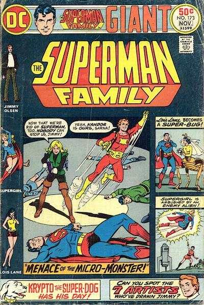 Superman Family #173 comic books - cover scans photos Superman Family #173 comic books - covers, picture gallery