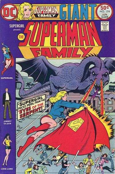 Superman Family #174 comic books - cover scans photos Superman Family #174 comic books - covers, picture gallery