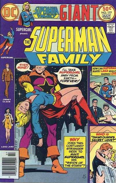 Superman Family #177 comic books - cover scans photos Superman Family #177 comic books - covers, picture gallery