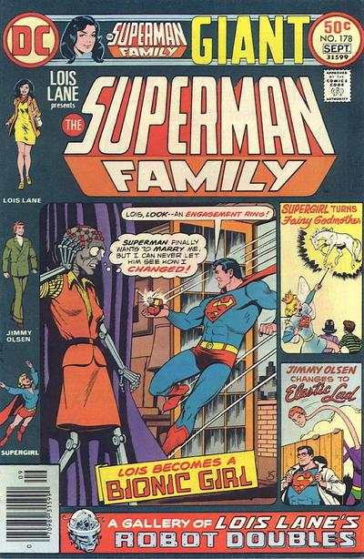 Superman Family #178 comic books - cover scans photos Superman Family #178 comic books - covers, picture gallery