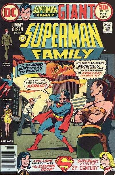 Superman Family #179 comic books - cover scans photos Superman Family #179 comic books - covers, picture gallery