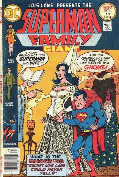 Superman Family #181 comic books - cover scans photos Superman Family #181 comic books - covers, picture gallery