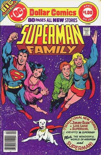 Superman Family #182 comic books - cover scans photos Superman Family #182 comic books - covers, picture gallery