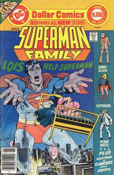 Superman Family #183 comic books - cover scans photos Superman Family #183 comic books - covers, picture gallery