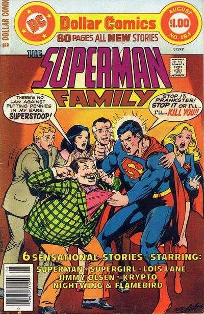 Superman Family #184 comic books - cover scans photos Superman Family #184 comic books - covers, picture gallery