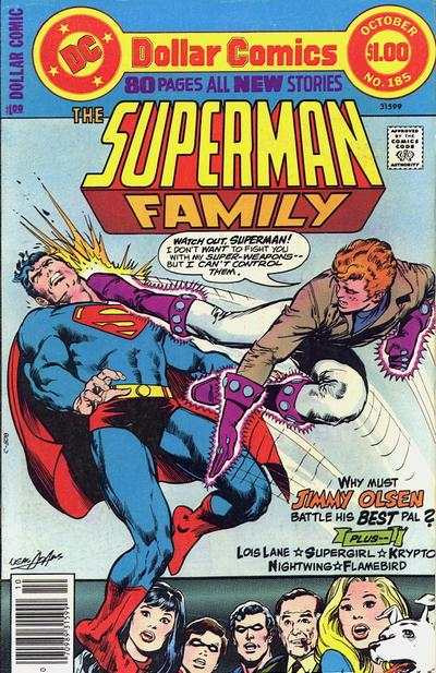 Superman Family #185 comic books - cover scans photos Superman Family #185 comic books - covers, picture gallery