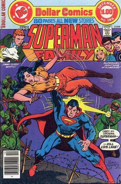 Superman Family #186 comic books - cover scans photos Superman Family #186 comic books - covers, picture gallery