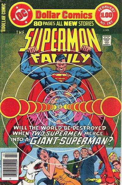Superman Family #187 comic books - cover scans photos Superman Family #187 comic books - covers, picture gallery