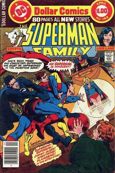 Superman Family #188 comic books - cover scans photos Superman Family #188 comic books - covers, picture gallery