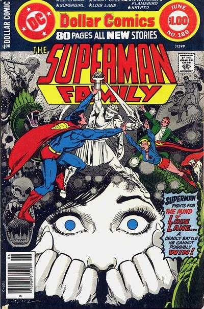 Superman Family #189 comic books - cover scans photos Superman Family #189 comic books - covers, picture gallery