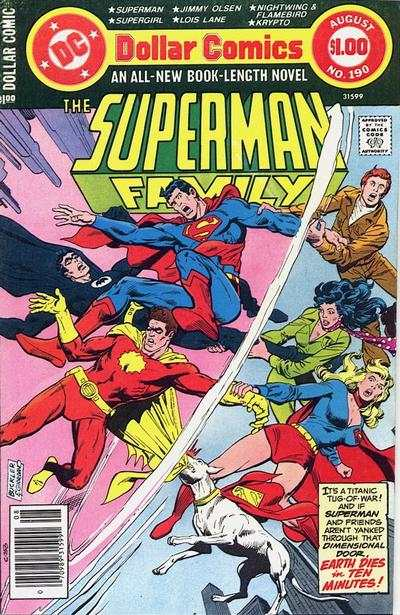 Superman Family #190 comic books for sale