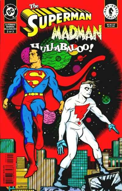 Superman/Madman Hullabaloo! #2 comic books - cover scans photos Superman/Madman Hullabaloo! #2 comic books - covers, picture gallery