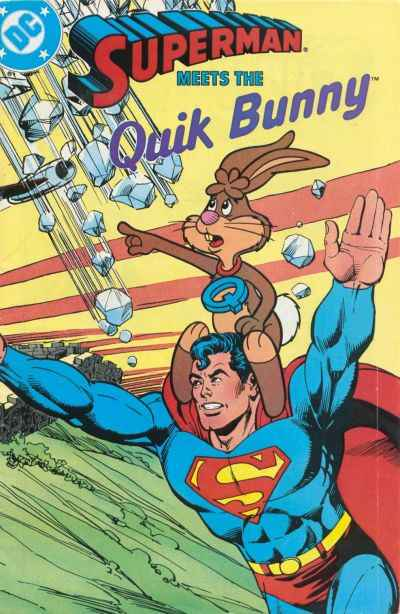 Superman Meets the Quik Bunny #1 comic books - cover scans photos Superman Meets the Quik Bunny #1 comic books - covers, picture gallery
