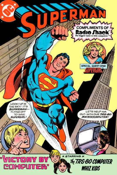 Superman: Radio Shack Giveaway #1 cheap bargain discounted comic books Superman: Radio Shack Giveaway #1 comic books