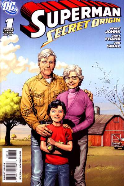 Superman: Secret Origin #1 comic books - cover scans photos Superman: Secret Origin #1 comic books - covers, picture gallery