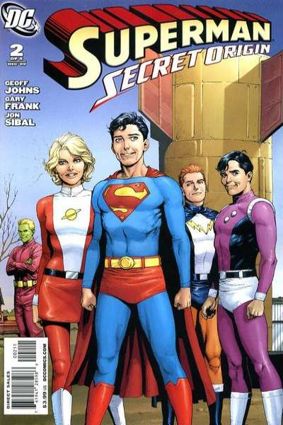 Superman: Secret Origin #2 comic books - cover scans photos Superman: Secret Origin #2 comic books - covers, picture gallery