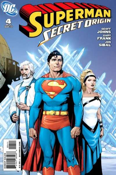 Superman: Secret Origin #4 comic books - cover scans photos Superman: Secret Origin #4 comic books - covers, picture gallery
