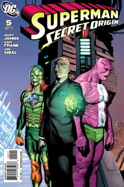Superman: Secret Origin #5 Comic Books - Covers, Scans, Photos  in Superman: Secret Origin Comic Books - Covers, Scans, Gallery