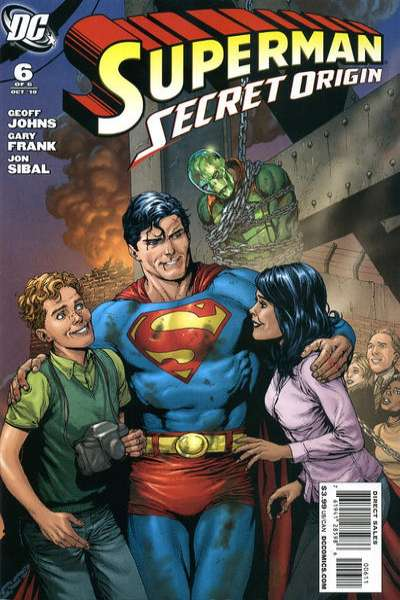 Superman: Secret Origin #6 comic books - cover scans photos Superman: Secret Origin #6 comic books - covers, picture gallery