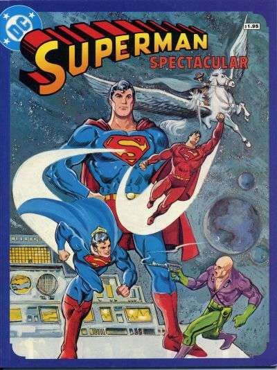 Superman Spectacular comic books