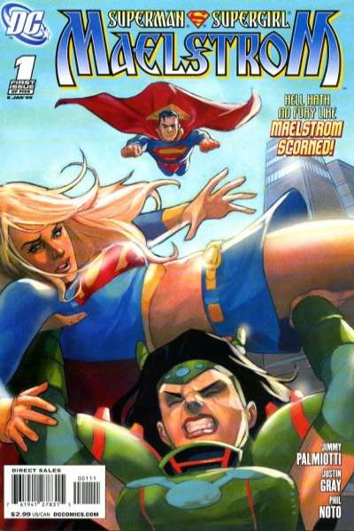 Superman/Supergirl: Maelstrom #1 comic books - cover scans photos Superman/Supergirl: Maelstrom #1 comic books - covers, picture gallery