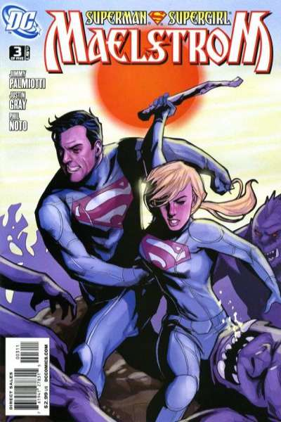 Superman/Supergirl: Maelstrom #3 Comic Books - Covers, Scans, Photos  in Superman/Supergirl: Maelstrom Comic Books - Covers, Scans, Gallery