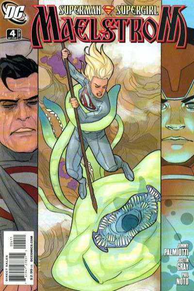 Superman/Supergirl: Maelstrom #4 Comic Books - Covers, Scans, Photos  in Superman/Supergirl: Maelstrom Comic Books - Covers, Scans, Gallery