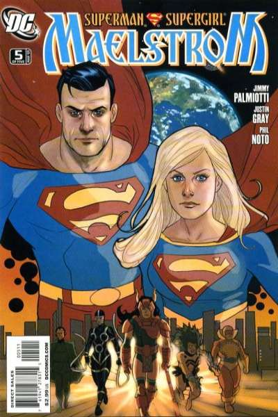 Superman/Supergirl: Maelstrom #5 comic books - cover scans photos Superman/Supergirl: Maelstrom #5 comic books - covers, picture gallery