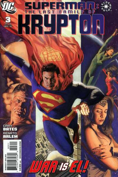 Superman: The Last Family of Krypton #3 comic books - cover scans photos Superman: The Last Family of Krypton #3 comic books - covers, picture gallery