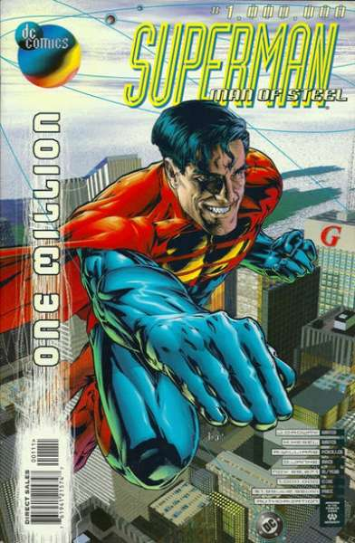 Superman: The Man of Steel #1000000 comic books for sale