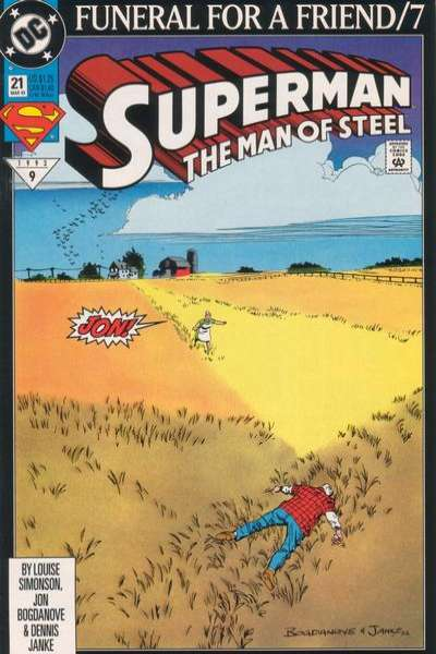 Superman: The Man of Steel #21 Comic Books - Covers, Scans, Photos  in Superman: The Man of Steel Comic Books - Covers, Scans, Gallery