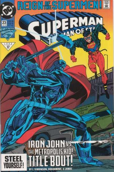 Superman: The Man of Steel #23 comic books for sale