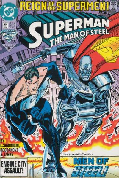 Superman: The Man of Steel #26 Comic Books - Covers, Scans, Photos  in Superman: The Man of Steel Comic Books - Covers, Scans, Gallery