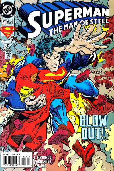 Superman: The Man of Steel #27 comic books for sale