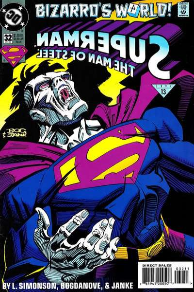 Superman: The Man of Steel #32 Comic Books - Covers, Scans, Photos  in Superman: The Man of Steel Comic Books - Covers, Scans, Gallery