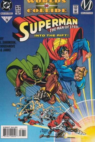 Superman: The Man of Steel #36 Comic Books - Covers, Scans, Photos  in Superman: The Man of Steel Comic Books - Covers, Scans, Gallery