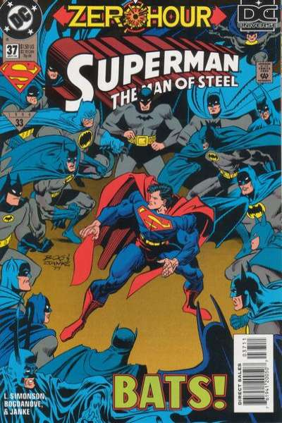 Superman: The Man of Steel #37 Comic Books - Covers, Scans, Photos  in Superman: The Man of Steel Comic Books - Covers, Scans, Gallery