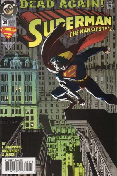 Superman: The Man of Steel #39 Comic Books - Covers, Scans, Photos  in Superman: The Man of Steel Comic Books - Covers, Scans, Gallery