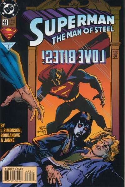 Superman: The Man of Steel #41 comic books for sale
